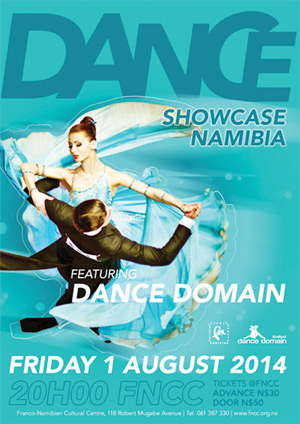 Dance Domain invites every Namibian to release their own lurking dance muse, get their bodies moving, and start expressing themselves through gracious movements.