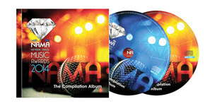 The NAMA compilation album was released this week. It is the first time an album has been produced from the performances at the NAMA event.