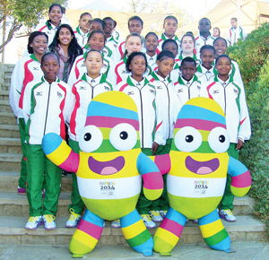 Representing the girl child: The youthful soccer team that is going to participate in this year's edition of the Youth Olympics Games in China