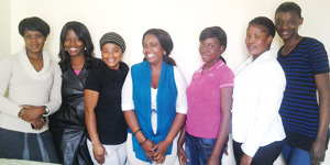 The first students who successfully completed a Health Care Assistant's training course in Swakopmund. This training is offered by a health care professional and conforms with international health care standards. Once completing their practical assessments, these students are available as nursing assistants to work in clinics and hospitals.