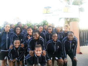 Brave Gladiators ready for the Nations' Confederation African Football (CAF) Women Football Championship.