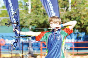 Elisabeth Taljaard will be among the pick of archers that are going to participate in the land of Pharoahs