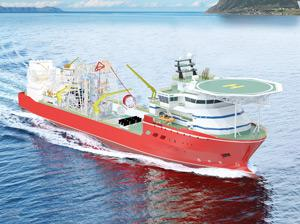 Construction of Debmarine's largest diamond recovery vessel progressing well – official
