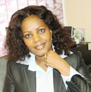 Olga Katjiuongua, Manager of the Social Security Commission's development fund.