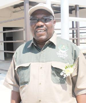 Namibia National Farmers Union President, Tobias Emvula.