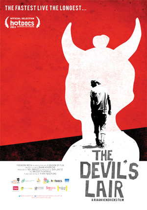 Devil's Lair by Riaan Hendricks and produced by Namibian Neil Brandt will premiere at the Franco Namibian Cultural Centre on 8 October 2014.