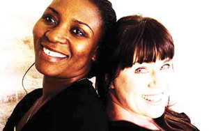 (L-R) Lilian Mundia, Manager Finance and Melanie van der Merwe, Manager Project of Women Unleashed a relatively new Namibian company that is 100% owned by previously marginalised Namibian women.