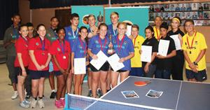 Overall winners at the NTTA Inter-School Championship that was for the first time hosted in the Hardap Region last weekend.