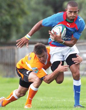 Catch me if you can. From the archives: NAU has welcomed the inclusion of a Namibian team in next year's Vodacom Cup competition which is set expose the boys to high intensity rugby before the commencement of the World Cup.