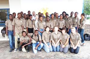 The Tsumeb based learners that recently took part in a biodiversity programme hosted by Dundee Precious Metals