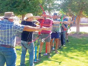 Passion, determination and the right aim, ensured part of these archers from the Aroab area to qualify as basic archery instructors for the National Archery in the Schools Program (NASP) at the course organised by the Archery Association of Namibia last weekend.