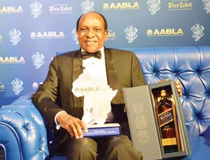 Dr Reginald Mengi, recipient of the Business Leader of the Year and Lifetime Achievement Award.