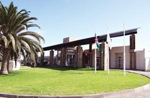 The Mediclinic health facility, situated in Swakopmund