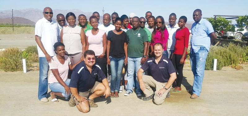 With the help of AMTA the Perishable Products for Export Control Board (PPECB) South Africa, AMTA will establish the department of Standards and Trade to facilitate the implementation of agricultural marketing and trade and promote industrialiswation as well as promote, facilitate and enforce standards compliance of agricultural products. AMTA organised a two weeks theory and practical training for its Agronomic Standards Officers, Market Research Officers, Silo Control Officers and Food Safety Officers.