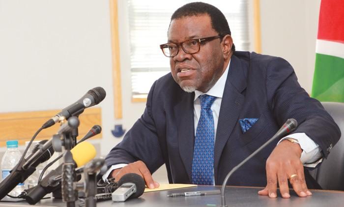 Geingob says corruption has tainted Namibia