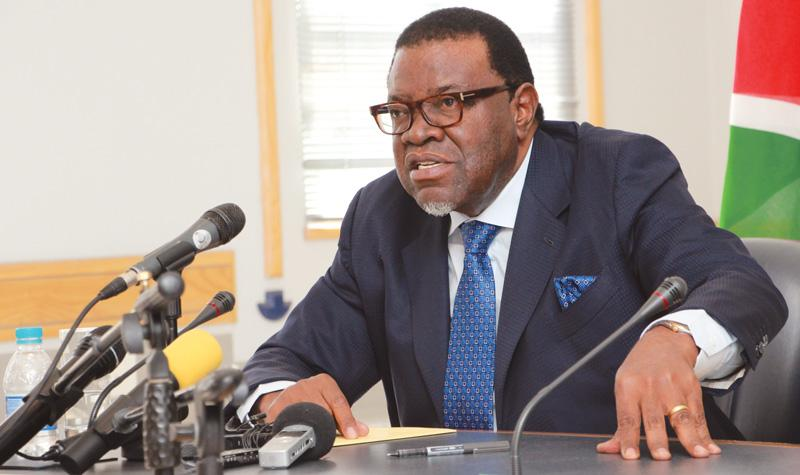 Risk of a second COVID-19 wave remains real and possible says Geingob