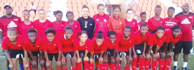U-17 girls focus on World Cup preliminary tie