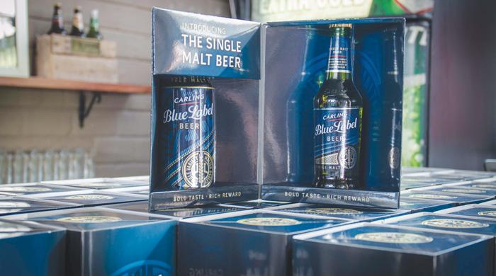 SABMiller launches Carling Blue