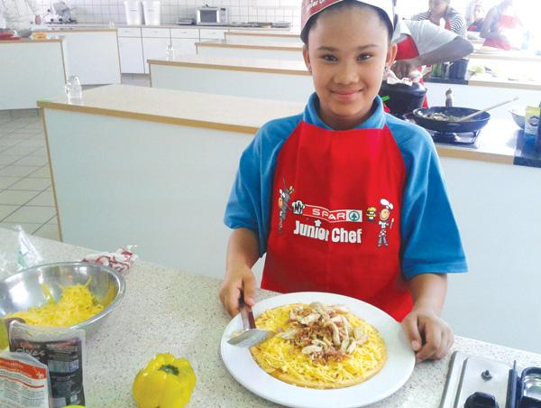 Junior Chef shines