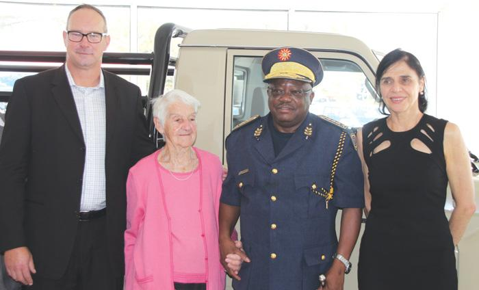 NamPol receives new Land cruiser