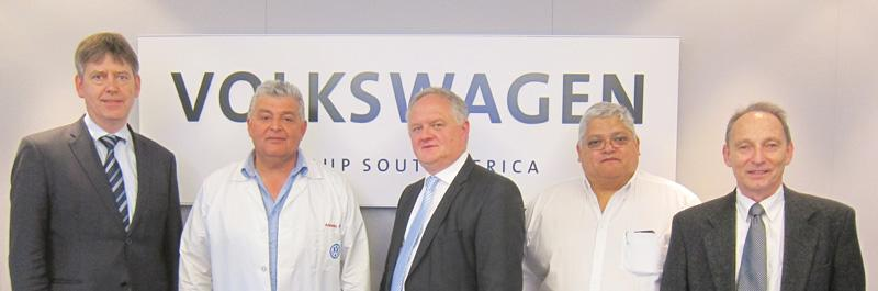 Volkswagen SA leads ISO certification