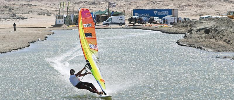 Records tumble at Wind surfing Challenge