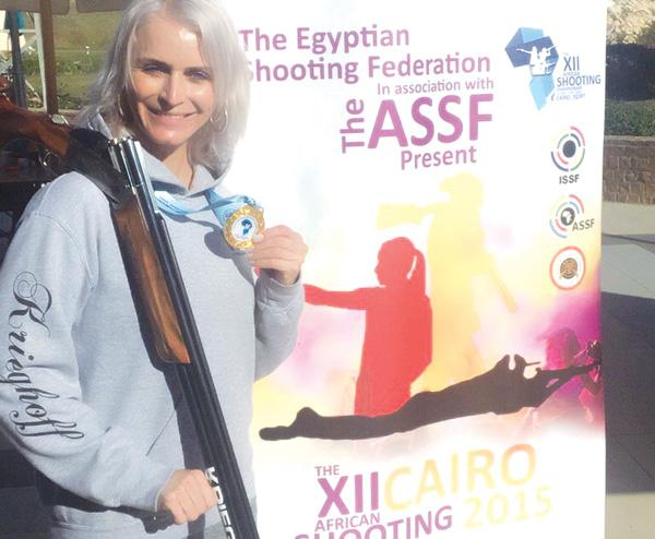 Sharp Shooter Ahrens off to Rio 2016