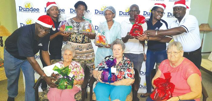 Dundee makes Christmas real for Tsumeb elderly