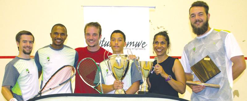 Squash champions deliver some scorchers