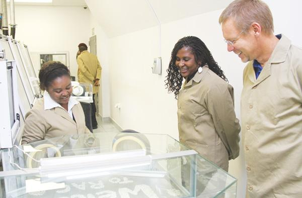First Lady visits Oranjemund