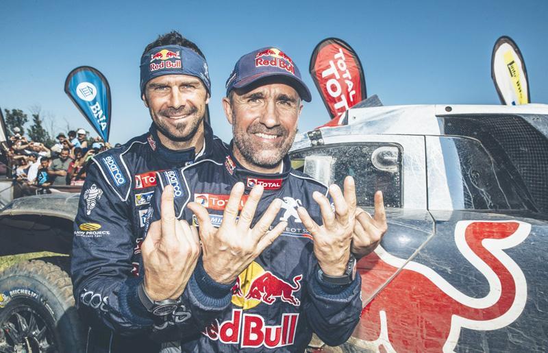 Peugeot bags Dakar Rally title