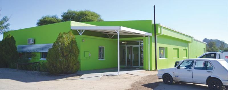 The DIY Depot store in Okahandja, which was painted, and will still be branded, in the corporate colours of DIY Depot.