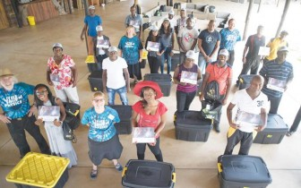 Sixty six science teachers from the Otjozondjupa Region participates in the two-day Little Shop of Physics training programme to improve the region's standard of science education. The intensive but relaxed training programme was made possible through collaboration between the Regional Directorate of the Ministry of Education, B2Gold Namibia, Colorado State University, the FNB Foundation and RMB Namibia. Each participating teachers received a certificate upon completion of the training which was conducted at B2Gold's Education Centre at their Otjikoto Mine in the Otjiwarongo district.