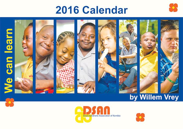 Down children splash 2016 calendar
