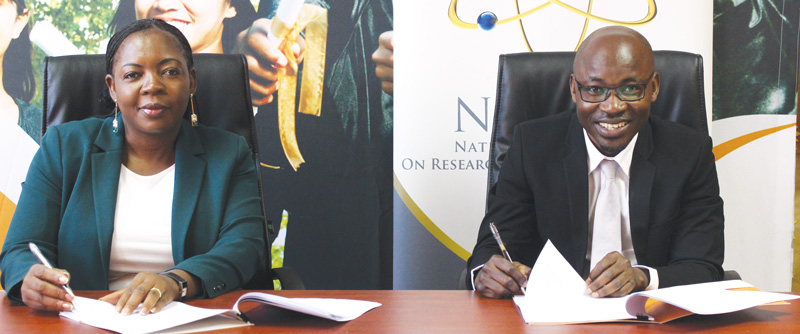 NSFAF inks agreement with Science Commission