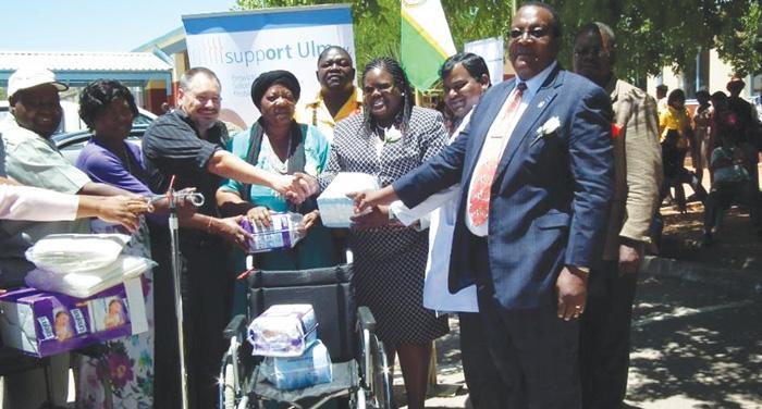 Medical equipment for Opuwo hospital