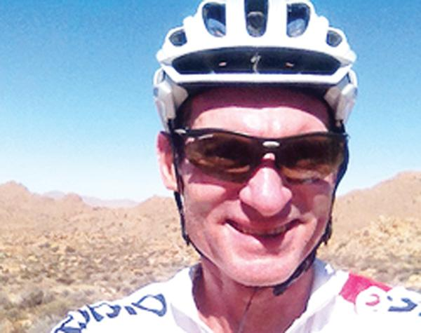 Veteran cyclist prepares for Cape Epic