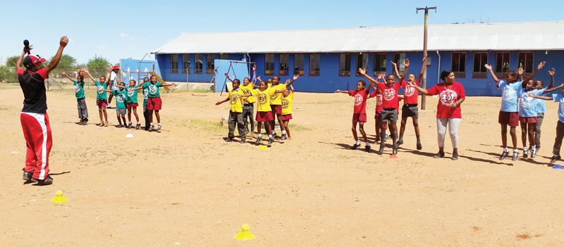 N$830,000 injected into school sports development