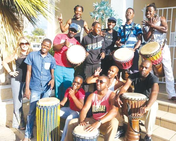 The Drum Cafe team who are ready to welcome you with fun events.