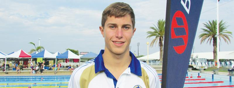 Top Performer: Alexander Skinner, new gala record-holder in the 200m Freestyle U17-18.
