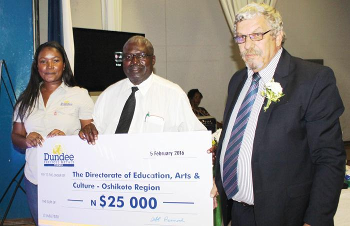 Dundee focuses on education in Oshikoto