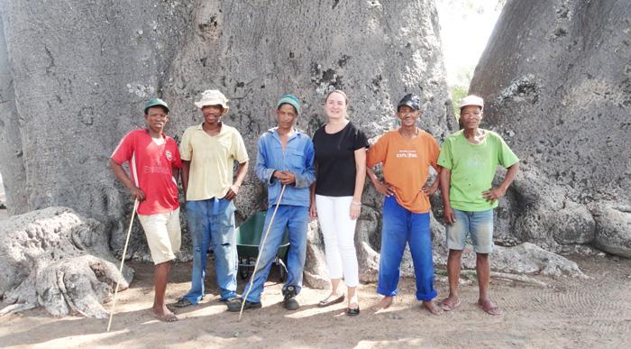 EU Ambassador visits Tsumkwe Bushmen