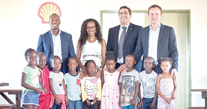 Shell Namibia tackles poverty