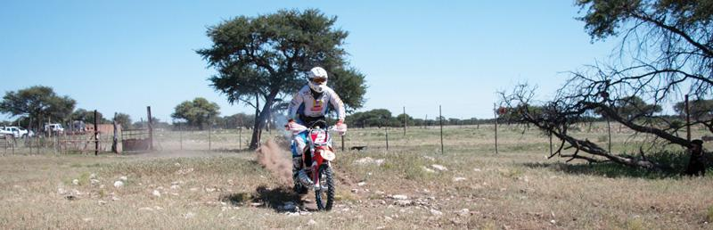 Round-two Enduro on track