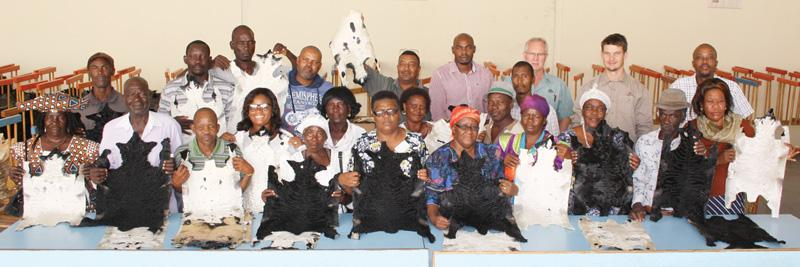 Erongo farmers learn modern Swakara husbandry