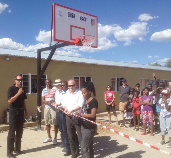Basketball School rewards learners