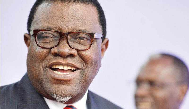 Geingob bans overseas trips for government officials