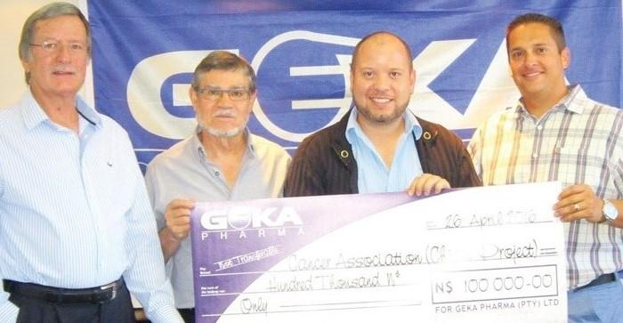 Geka Pharma joins fight against cancer