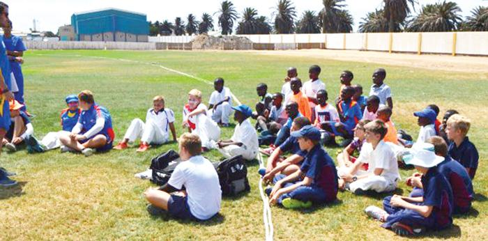 Cricket Namibia (CN) conducting trails for their U13, U15 and U17 National Teams ahead of the EJCCA Carnival City Cricket Festival attached.