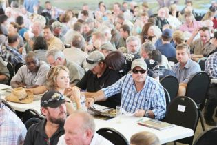 More than 500 guests descended on Erindi Game Reserve at the beginning of April for the largest game auction in history where more than 1200 animals went under the hammer. An atmosphere of anticipation pervaded as the 152 registered buyers prepared their final strategies to bag the animals they have selected from the catalogue.